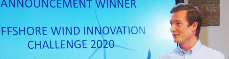 Reefy winner Offshore Wind Innovation Challenge 2020