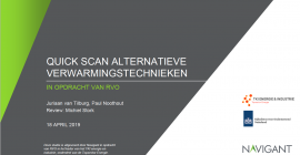 Quick scan alternatieve verwarmingstechnieken