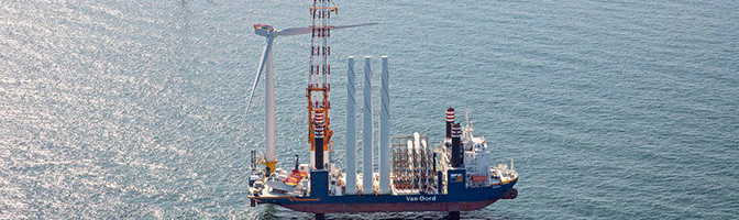 Installation offshore wind